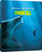 Meg: Limited Edition (4K Ultra HD/Blu-ray)(SteelBook)