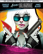 Atomic Blonde: Limited Edition (4K Ultra HD/Blu-ray)(SteelBook)