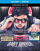 Baby Driver: Limited Edition (Blu-ray)(SteelBook)