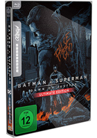 Batman v Superman: Dawn Of Justice: Ultimate Edition: Mondo Limited Edition (Blu-ray-IT)(SteelBook)
