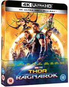 Thor: Ragnarok: Lenticular Limited Edition (4K Ultra HD-UK/Blu-ray-UK)(SteelBook)