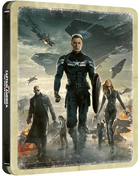 Captain America: The Winter Soldier: Limited Edition (4K Ultra HD/Blu-ray)(SteelBook)