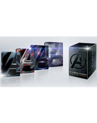 Avengers Assembled: Complete 4-Movie Collection (4K Ultra HD/Blu-ray)(SteelBook): The Avengers / Avengers: Age Of Ultron / Avengers: Infinity War / Avengers: Endgame