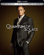 Quantum Of Solace: Limited Edition (4K Ultra HD/Blu-ray)(SteelBook)