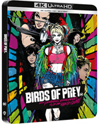 Birds Of Prey (And The Fantabulous Emancipation Of One Harley Quinn): Limited Edition (4K Ultra HD-UK/Blu-ray-UK)(SteelBook)(RePackaged)