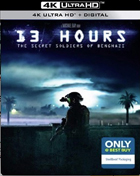 13 Hours: The Secret Soldiers Of Benghazi: Limited Edition (4K Ultra HD/Blu-ray)(SteelBook)