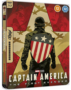 Captain America: The First Avenger: Mondo Limited Edition (4K Ultra HD-UK/Blu-ray-UK)(SteelBook)