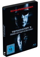 Terminator 3: Rise Of The Machines: Limited Edition (Blu-ray-GR)(SteelBook)