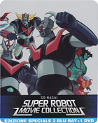 Go Nagai Super Robot Movie Collection (Blu-ray-IT/DVD:PAL-IT)(SteelBook)