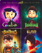 Ultimate Laika Collection: Limited Edition (Blu-ray)(SteelBook): Kubo And The Two Strings / The Boxtrolls / ParaNorman / Coraline