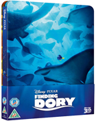 Finding Dory: Lenticular Limited Edition (Blu-ray 3D-UK/Blu-ray-UK)(SteelBook)