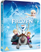 Frozen: Lenticular Limited Edition (Blu-ray 3D-UK/Blu-ray-UK)(SteelBook)