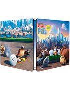 Secret Life Of Pets: Limited Edition (Blu-ray-IT/DVD:PAL-IT)(SteelBook)