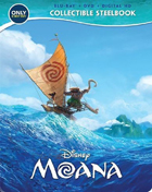 Moana: Limited Edition (Blu-ray/DVD)(SteelBook)