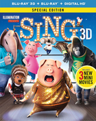 Sing 3D: Special Edition (Blu-ray 3D/Blu-ray)