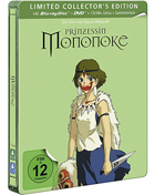 Princess Mononoke: Limited Edition (Blu-ray-GR/DVD:PAL-GR)(SteelBook)