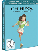 Spirited Away: Limited Edition (Blu-ray-GR/DVD:PAL-GR)(SteelBook)