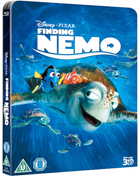 Finding Nemo: Lenticular Limited Edition (Blu-ray 3D-UK/Blu-ray-UK)(SteelBook)
