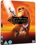 Lion King: Lenticular Limited Edition (Blu-ray 3D-UK/Blu-ray-UK)(SteelBook)