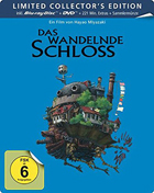 Howl's Moving Castle: Limited Edition (Blu-ray-GR/DVD:PAL-GR)(SteelBook)