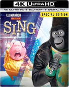 Sing: Special Edition: Limited Edition (4K Ultra HD/Blu-ray)(SteelBook)