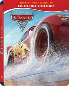 Cars 3: Limited Edition (Blu-ray/DVD)(SteelBook)