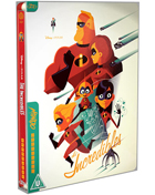 Incredibles: Mondo Limited Edition (Blu-ray-UK)(SteelBook)