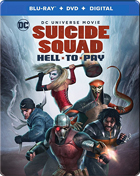 Suicide Squad: Hell To Pay: Limited Edition (Blu-ray/DVD)(SteelBook)