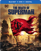Death Of Superman: Limited Edition (Blu-ray/DVD)(SteelBook)