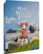 Mary And The Witch's Flower: Limited Edition (Blu-ray-UK)(SteelBook)
