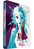 Frozen: Mondo Limited Edition (Blu-ray-UK)(SteelBook)