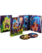 Dragon Ball Super: Broly: The Movie: Limited Edition (Blu-ray/DVD)(SteelBook)
