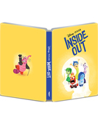 Inside Out: Limited Edition (2015)(4K Ultra HD/Blu-ray)(SteelBook)