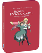 Howl's Moving Castle: Limited Edition (Blu-ray/DVD)(SteelBook)