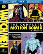 Watchmen: The Complete Motion Comic (Blu-ray)