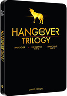 Hangover Trilogy: Limited Edition (Blu-ray-UK)(SteelBook): The Hangover / The Hangover Part II / The Hangover Part III