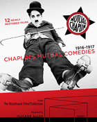 Chaplin's Mutual Comedies 1916-1917 (Blu-ray/DVD)(Steelbook)