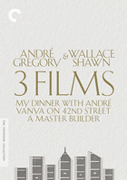 Andre Gregory & Wallace Shawn: 3 Films: Criterion Collection: My Dinner With Andre / Vanya On 42nd Street / A Master Builder