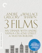 Andre Gregory & Wallace Shawn: 3 Films: Criterion Collection (Blu-ray): My Dinner With Andre / Vanya On 42nd Street / A Master Builder