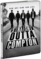Straight Outta Compton: Unrated Director's Cut (Blu-ray/DVD)(SteelBook)