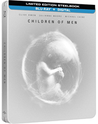 Children Of Men: Limited Edition (Blu-ray)(SteelBook)