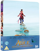 Alice Through The Looking Glass (2016): Limited Edition (Blu-ray 3D-UK/Blu-ray-UK)(SteelBook)