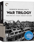 Roberto Rossellini's War Trilogy: Criterion Collection (Blu-ray): Rome, Open City / Paisan / Germany Year Zero
