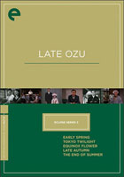 Late Ozu: Criterion Eclipse Series Volume 3