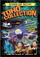 Icons Of Sci-Fi: Toho Collection: H-Man / Battle In Outer Space / Mothra