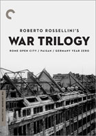 Roberto Rossellini's War Trilogy: Criterion Collection: Rome, Open City / Paisan / Germany Year Zero