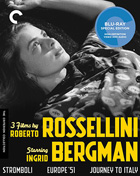 3 Films By Roberto Rossellini Starring Ingrid Bergman: Criterion Collection (Blu-ray)