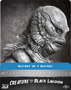 Creature From The Black Lagoon: Limited Edition (Blu-ray 3D-UK/Blu-ray-UK)(Steelbook)