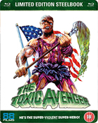 Toxic Avenger: Uncut Nuclear Edition: Limited Edition (Blu-ray-UK)(SteelBook)