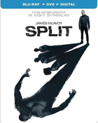 Split: Limited Edition (2016)(Blu-ray/DVD)(SteelBook)